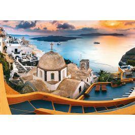 TREFL Puzzle  10445 Santorini, Řecko 1000 dílků