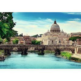 TREFL Puzzle  10449 Andělský most, Řím (Itálie) 1000 dílků