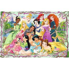 TREFL Puzzle Disney princezny: Setkání princezen 260 dílků