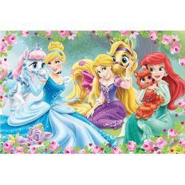 TREFL Maxi puzzle pro děti  24 dílků - Disney princezny: Odpočinek v zahradě