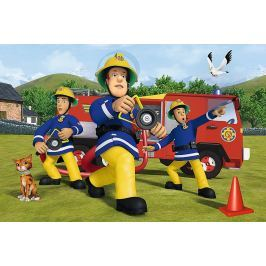 TREFL Maxi puzzle pro děti  24 dílků - Požárník Sam: V akci