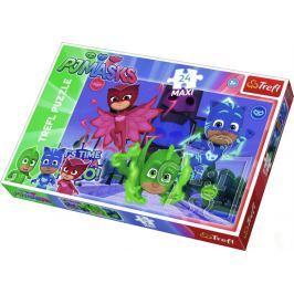 TREFL Puzzle Pyžamasky: Do akce MAXI 24 dílků