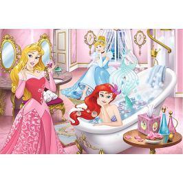 TREFL Puzzle pro děti  160 dílků - Disney princezny v koupelně