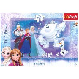 TREFL Puzzle pro děti  15335 Ledové království: Sněhuláčci 180 dílků