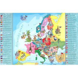 TREFL Puzzle pro děti  200 dílků - Mapa Evropy