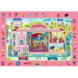 TREFL Puzzle Divadlo 70 dílků