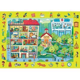 Trefl Puzzle Sídliště 70 dílků
