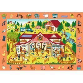 Trefl Puzzle Koňská farma 70 dílků