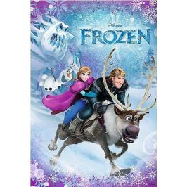 TREFL Puzzle pro děti  100 dílků - Ledové království: Záchrana Anny