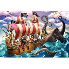TREFL Puzzle pro děti  100 dílků - Bitva na moři