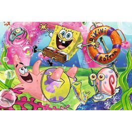 TREFL Puzzle pro děti  100 dílků - SpongeBob v kalhotách