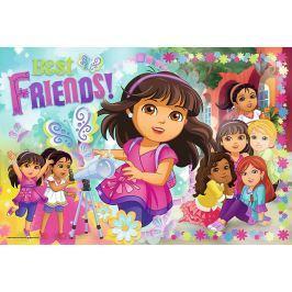 TREFL Puzzle Dora a přátelé: Dobrodružství 100 dílků