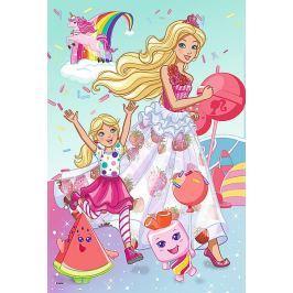 TREFL Puzzle Svět Barbie 100 dílků