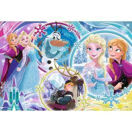 TREFL Puzzle Ledové království: Země přátelství 100 dílků