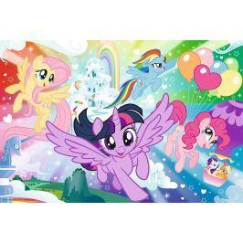 TREFL Puzzle My Little Pony: Země duhy 100 dílků