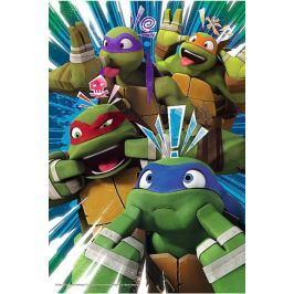 TREFL Puzzle pro děti  60 dílků - Želvy Ninja