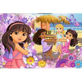 TREFL Puzzle Dora a přátelé 60 dílků