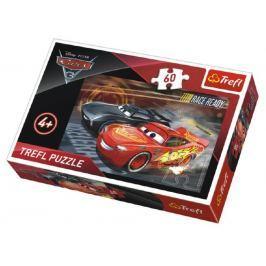 TREFL Puzzle Auta/Cars 3 Disney 33x22cm 60 dílků v krabičce 21x14x4cm