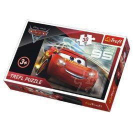 Trefl Puzzle Auta/Cars 3 Disney 27x20cm 30 dílků v krabičce 21x14x4cm