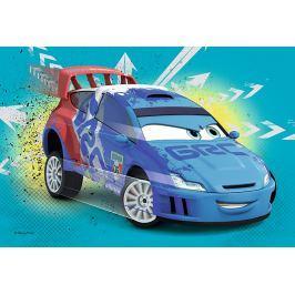 TREFL Dětské puzzle  54 dílků - Auta: Modrý závodník