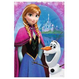 TREFL Dětské puzzle  54 dílků - Ledové království: Anna a Olaf