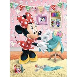 TREFL Puzzle Minnie Mouse: V šicí dílně 20 dílků
