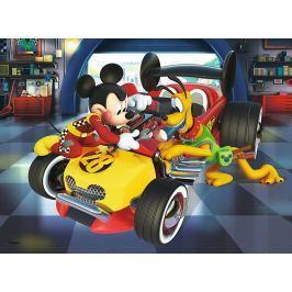 TREFL Puzzle Mickey Mouse: Příprava na závod 20 dílků