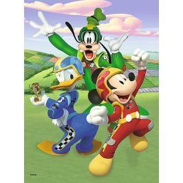 TREFL Puzzle Mickey Mouse: Závodníci 20 dílků