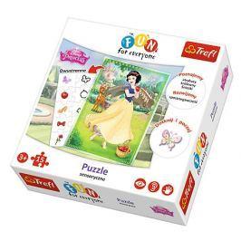 TREFL Puzzle pro děti  15 dílků - Sněhurka