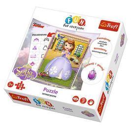 TREFL Puzzle pro děti  15 dílků - Sofie První