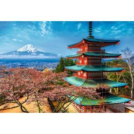TREFL Puzzle  1500 dílků - Hora Fuji, Japonsko