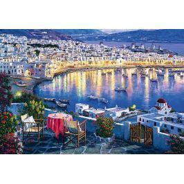 TREFL Puzzle Mykonos za soumraku, Řecko 1500 dílků