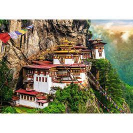 TREFL Puzzle Tygří hnízdo, Bhútán 2000 dílků