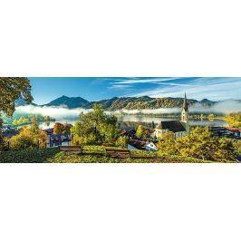 TREFL Panoramatické puzzle Jezero Schliersee, Německo 1000 dílků