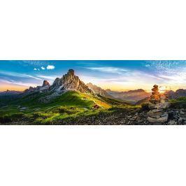 TREFL Panoramatické puzzle Passo di Giau, Dolomity 1000 dílků