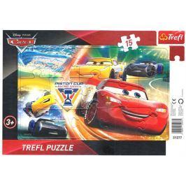 TREFL Puzzle Auta 3: Dej do toho vše! 15 dílků