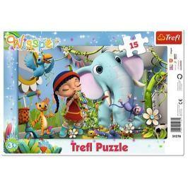 TREFL Puzzle Wissper: Melodie přátelství 15 dílků