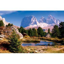 TREFL Puzzle  3000 dílků - Jezero v Dolomitech, Itálie