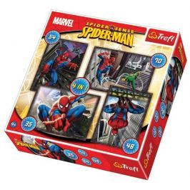 TREFL Puzzle pro děti 4v1 - Spiderman (35,48,54,70 dílků)