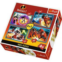 TREFL Puzzle Úžasňákovi 2, 4v1 (35,48,54,70 dílků)