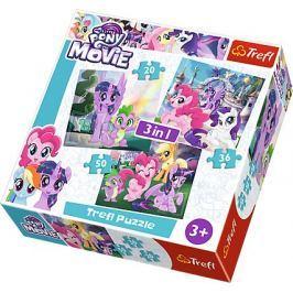 TREFL Puzzle My Little Pony: Kouzlo přátelství 3v1 (20,36,50 dílků)