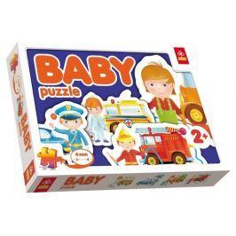 TREFL Puzzle pro nejmenší  - Baby puzzle Pohotovostní vozidla (4v1)