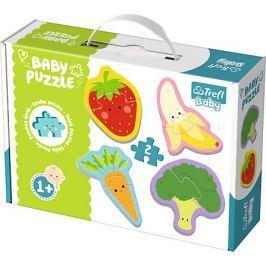 TREFL Baby puzzle Ovoce a zelenina 4x2 dílky