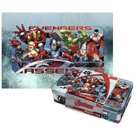 TREFL puzzle Avengers v plechové krabičce 160 dílků
