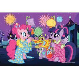 TREFL Dětské puzzle  54 dílků - My Little Pony: lampiónový průvod