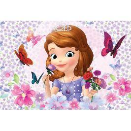 Trefl Dětské puzzle  54 dílků - Sofie První: motýlci a růže