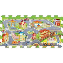 TREFL Pěnové puzzle Město - 8 dílů