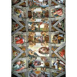 TREFL Puzzle  6000 dílků - Michelangelo: Strop Sixtinské kaple