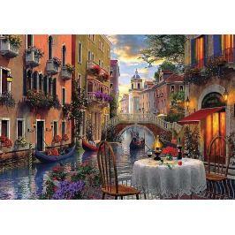 TREFL Puzzle  6000 dílků - Davison: Romantická večeře