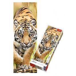 TREFL Puzzle Plížící se tygr 300 dílků 16x48cm v krabici 10x26,5x4,5cm